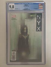 NYX #3 CGC 9.8 Hot Key  1st appearance X-23 Laura Kinney MCU  📈 Huge Key !