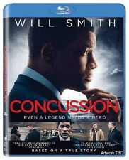 Concussion (Blu-Ray, 2016) New Sealed Drama Sports Biography Movie Region Free