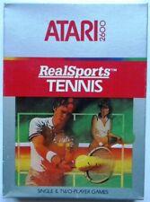 REAL SPORTS TENNIS ATARI 2600