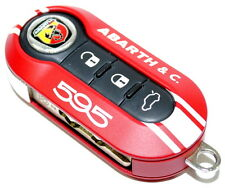 Fiat 500 595 Abarth & Co 50th Anniversary Key Cover RED New Genuine 5745277R