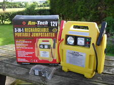 Am - Tech 12v  3-in-1  Rechargeable Portable Jumpstarter
