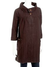 Cotton Pinstripe Swing Coat by Industry  L (14- 16)  NWT!! Gorgeous!!