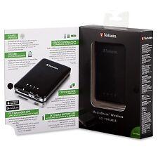 ($0 P&H) Verbatim MediaShare Wireless Stream Store / Backup / Power p/n 98243