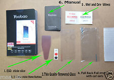 Yoobao Tempered Glass Screen Protector for iPhone 5 / 5S / 5C Anti-Scratch 9H