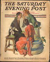 DEC 5 1931 SATURDAY EVENING POST magazine WOMEN GOSSIPPING