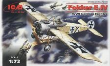 Fokker e. iv-ww i fighter (kaiserliche luftwaffe markings) 1/72 icm