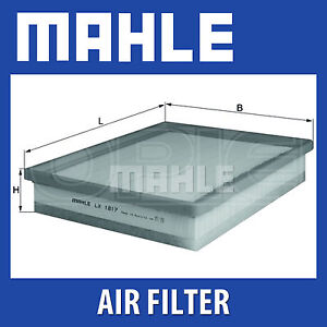 Mahle Air Filter LX1817 - Fits Saab 9-3 - Genuine Part