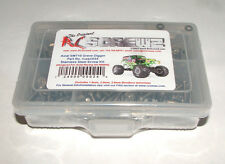 AXIAL RACING SMT10 GRAVE DIGGER RC SCREWZ SCREW KIT STAINLESS STEEL AXI024