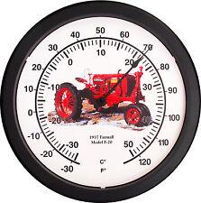 """New Vintage 1937 McCormick Farmall Model F-20 Tractor Thermometer Massive 14"""""""