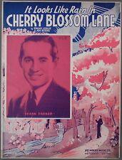 1937 It Looks Like Rain In Cherry Blossom Lane Leslie & Burke Frank Parker