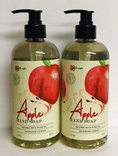 (2) Apple Moisturizing Hand Soap with Rose  Oil 16 fl oz Each