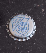 NOS Heilemans Pure Genuine Old Style Beer Bottle Cap UNUSED UNCRIMPED NEW