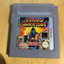 Nintendo Gameboy Game - Shadow Warriors