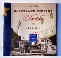 2001 Cleveland Indians Charities PICNIC IN THE PARK w/STARS Event Program MLB