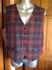 Unbranded Polyester Button Waist Length Waistcoats for Women
