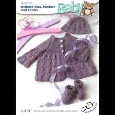 BHKC 46 Baby Childrens Cable Jumper Cardigan DK Knitting Pattern 18 - 26in