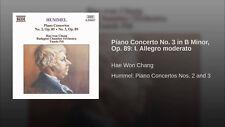 HUMMEL: Piano Concertos CD NEW