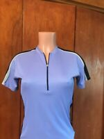 Bellwether size M Women's Short sleeve Cycling Jersey. Purple. Made in USA