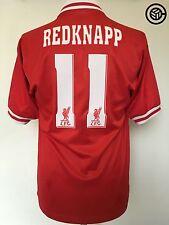 REDKNAPP #11 Liverpool Reebok Home Football Shirt Jersey 1996/97 (S)