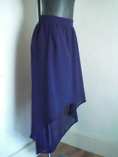 Calf Length Chiffon Asymmetrical Skirts for Women