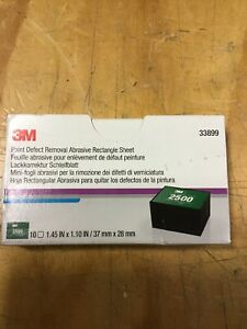 3M 33899 Paint Defect Removal Abrasive 2500 grade, 37 mm x 28 mm rectangle