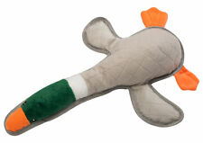"""Tough Dog Toy Squeaky Duck Petface Plush Puppy Game Play Durable Nylon 19"""""""