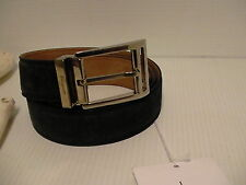 Salvatore ferragamo suede blue belt size 44 inch adjustable made in Italy