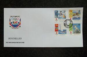 Seychellen  FDC - Olympische Spiele Peking 2008