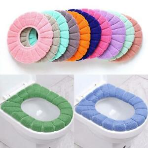 Bathroom Toilet Seat Closestool Washable Soft Warmer Mat Cover Pad Cushion 2020