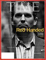 TIME MAGAZINE JULY 24 2017 THE RUSSIA SCANDAL HITS HOME RED HANDED - SHIPS FREE