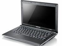 "Samsung light portable netbook 10.1"" Intel Atom  160GB HDD WIN7 Webcam WIFI"