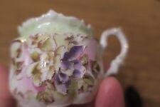 RS PRUSSIA Mustard green/purple flowers, beauty!