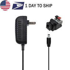 US Plug 12V2A 5.5x2.1mm AC/DC Power Supply Adapter for 3528 2835 5050 LED Strip