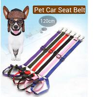 Hundegurt Sicherheitsgurt Auto-gurt Elastische Anschnallgurt Hundeleine 4 Farben