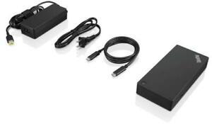 AU Genuine Lenovo ThinkPad USB-C Docking Station Gen 2 Dock (NEW / 40AS0090AU)