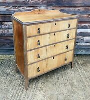 LOVELY ANTIQUE 20TH CENTURY FRENCH ART DECO CHEST OF DRAWERS, C1920