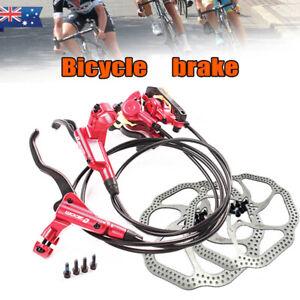 ZOOM MTB Bike Hydraulic Disc Brake HB-875 Set 160/180mm Disc Brake Rotor 6 Bolts