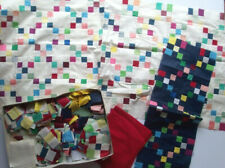 9 Patch started quilt top salvage project