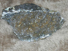 Gorgeous Agate & Druzy Crystal Magnasite Like Reflections/Sparkle Geode