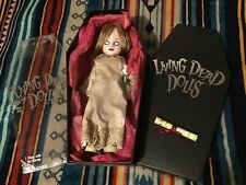 LIVING DEAD DOLLS SERIES 1 POSEY In Box W/Certificate 2000 NO NAME PLATE