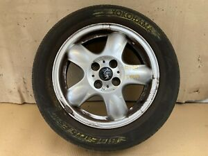 Mini cooper 15 inch alloy wheel star spooler 100 with tyre R55 R56 R57 07-13