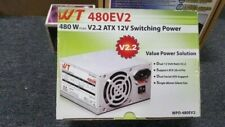 New WT ATX 12 V Switching Power Single Fan V2.2 480 W