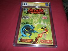 Batman #232 dc 1971 bronze age 4.5/vg+ CGC SS comic! SIGNED NEAL ADAMS! 1ST RAS!