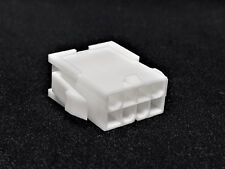 CPU / EPS Connector 8 Pin Male Stecker inkl. 8 Terminals Pins - weiß