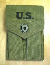 US GI WWII M1911 7 round 45 acp Double Magazine Pouch for Colt 1911 Med Corp