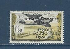 "FRENCH EQUATORIAL AFR  C9 - USED 1941""Afrique Francaise Libre"" ON AIRPLANE"