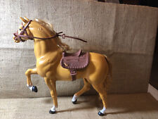 Vintage barbie Brown horse With Saddle and bridle