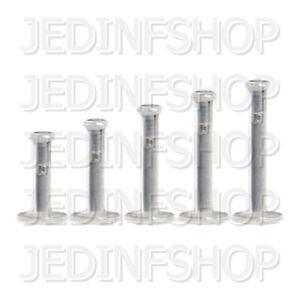 Retainer Hider - Labret Lip Stud | 1.6mm (14g) - 8mm-16mm | BioFlex - Push Fit