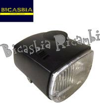 5411 - FARO FANALE ANTERIORE NERO PIAGGIO 50 CIAO PX BICASBIA CASAMASSIA BIAGIO