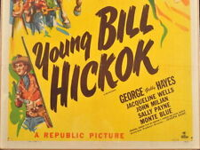 YOUNG BILL HICKOK, 1940 Starring Roy Rogers and Gabby Hayes